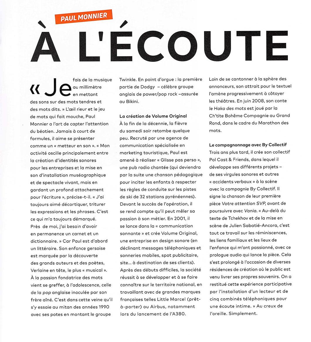 Article janvier 2019 Le Brigadier